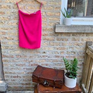 VTG Emanuel Ungaro Hot Pink Petite Pencil Skirt